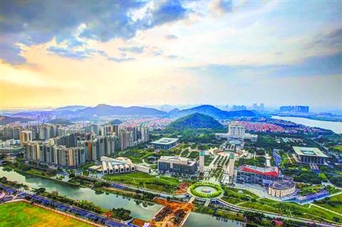 顺德东部新城已建成一批全区性基础设施配套,未来将继续增强城市