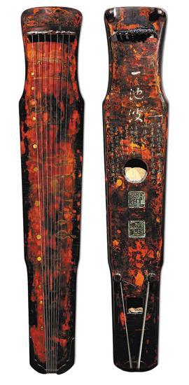 """宋或更早,神农式""""一池波""""古琴,北京保利2011年拍卖成交1725万元"""