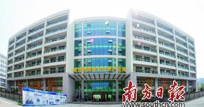 南方教育装备创新产业城展示中心首度亮相江门
