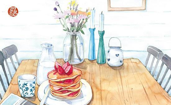 咽口水的美食插画书|美食|插画|手绘