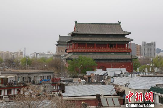 """图为北京市核心区西城区。西城区是中南海所在地,辖区内的金融街汇集了""""一行三会""""等中国最高金融决策机构。这里被视为北京政治中心、文化中心的核心承载区。 韩海丹 摄"""