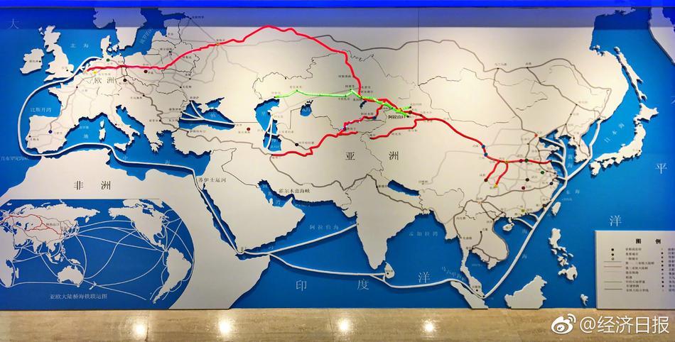 阿拉山口站:中欧班列从这里驶向世界图片