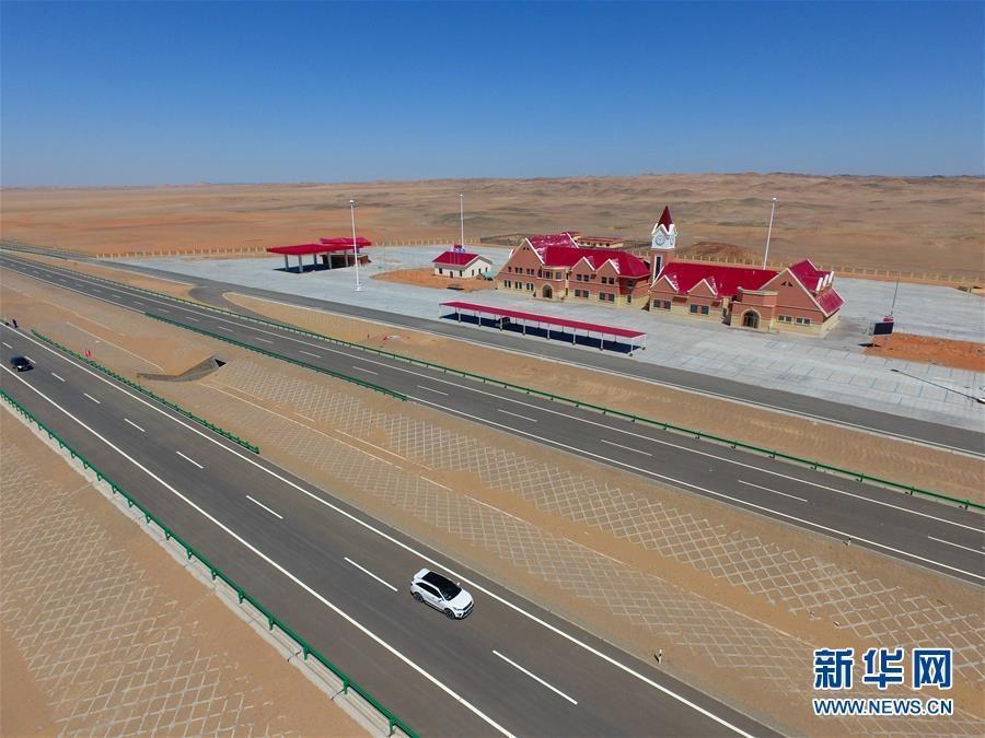 京新高速公路将于6月30日前建成通车,最后的临河-白疙瘩段各施工单位