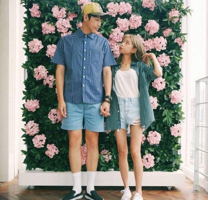 60和190的最萌身高差夫妻的甜蜜日常