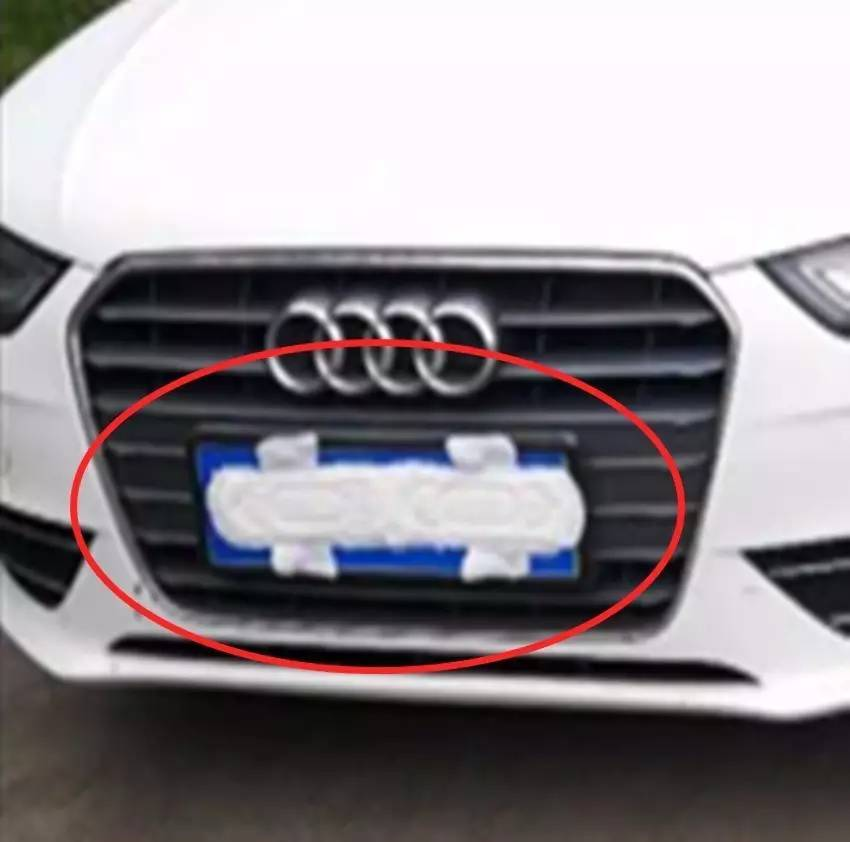 近日,湖南常德高速交警在长张高速一服务区查获了一起遮挡机动车高清图片