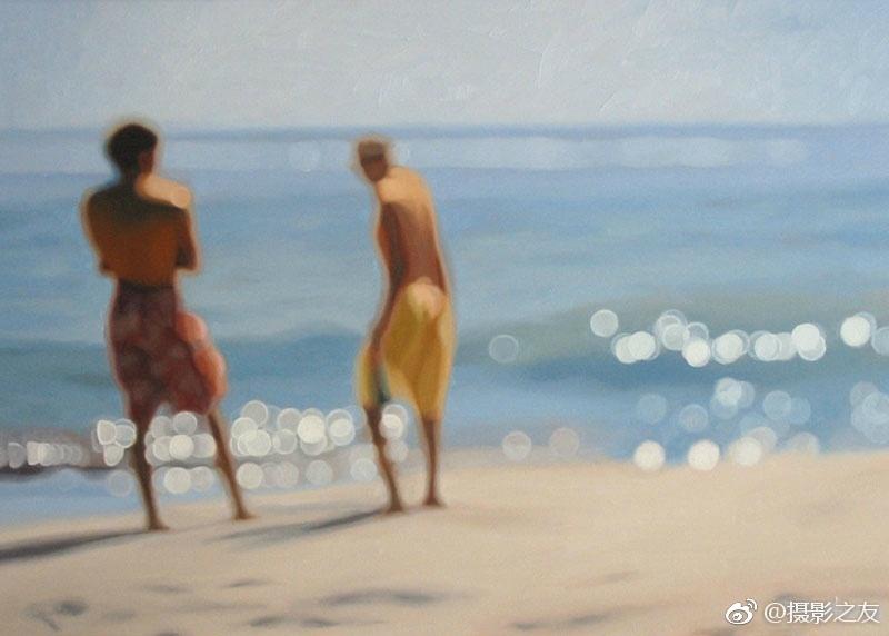 啊~有人说这是近视眼看到的全世界-夏日海滩 Philip Barlow