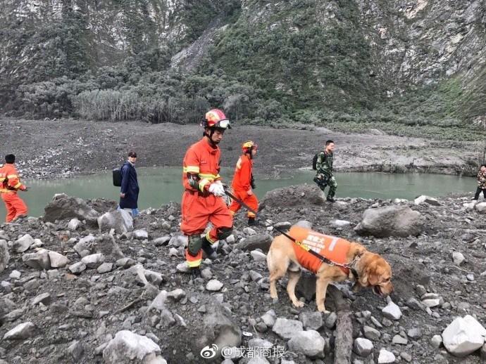 茂县山体滑坡最后黄金24小时:挖三四米才见房顶