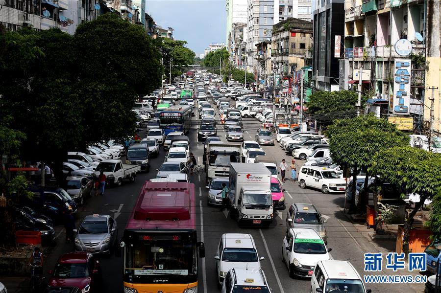 緬甸疫情趨于穩定 仰光街頭恢復往日生氣