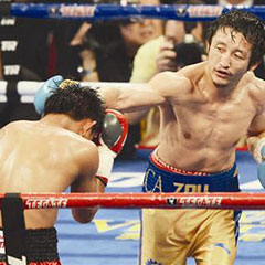 邹市明单回合三度击倒对手 生涯首度KO获胜