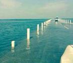 鄱阳湖现水上公路