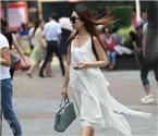 重庆美女街拍养眼好风景