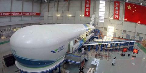 原上海第一飞机设计研究院上海分院,原上海飞机制造厂(现为上海飞机