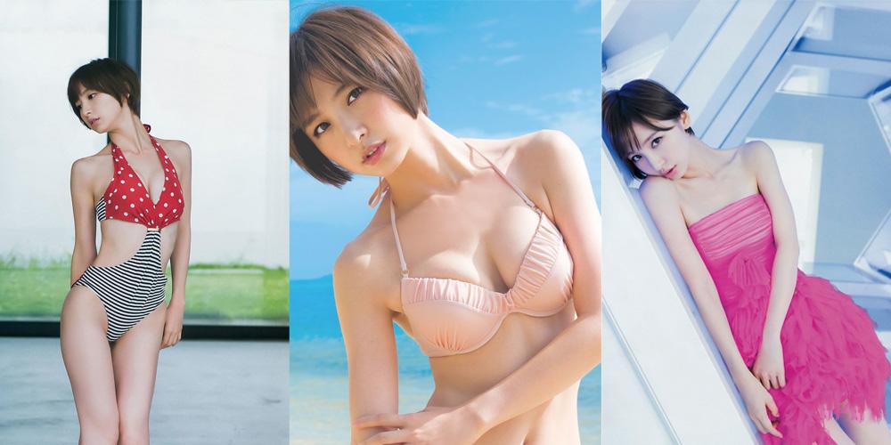 篠田麻里子突破尺度 曾经青涩如今性感