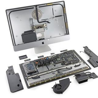 拆解全新5K屏27英寸iMac一体电脑
