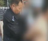 黑车司机裸体抗拒执法