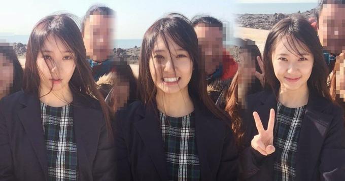 f(x)成员krystal六连拍 呆萌表情逗笑图片