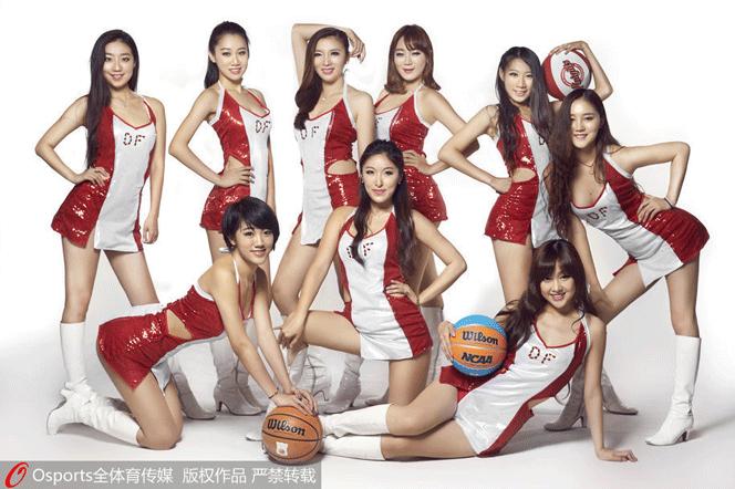 北京巅峰啦啦队写真