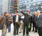 市民代表参观重点民生工程