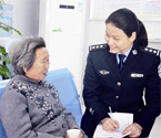襄州女警被誉为最美警花