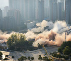 武汉一次性爆破8栋群楼