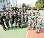 探访武汉唯一女民兵连