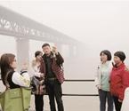 湖北遇入冬来最强雾霾
