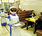 慈溪餐厅机器人当跑堂