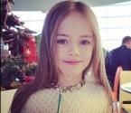 9岁模特被誉世界最美少女
