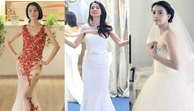 11月28日大婚 揭高圆圆婚纱造型