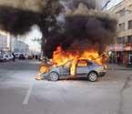 首府发生3起汽车起火事故