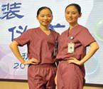 浙江1所医院护士换装着多彩服