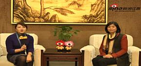 2014年赣南脐橙网络博览会暨中国赣州国际脐橙节在江西定南县开幕。定南县副县长伍春华接受专访。