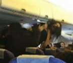多名乘客航班上大打出手