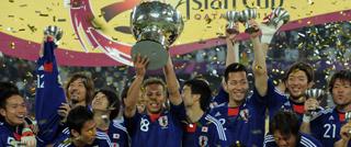 日本1-0澳洲夺冠军