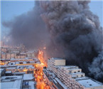 哈尔滨大火致3名消防员亡