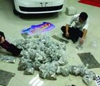 公交老板提半吨硬币买车