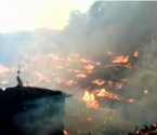 200年历史苗寨起火