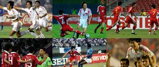 老照片回顾国足亚洲杯之旅