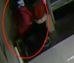 长腿女踢爆ATM机屏幕