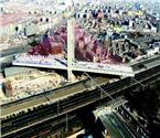 最重转体桥跨越京沪铁路