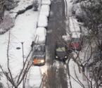 合肥一夜积雪未影响交通