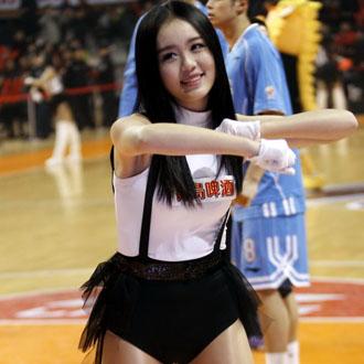 CBA第31轮篮球宝贝集锦