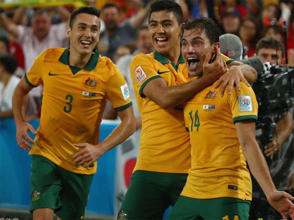 澳大利亚2-1击败韩国夺亚洲杯首冠