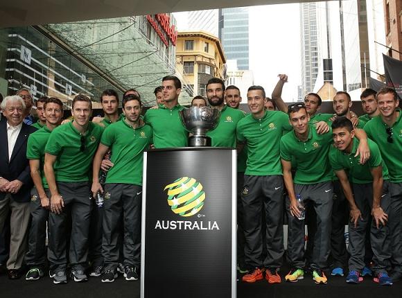 澳大利亚夺冠游行