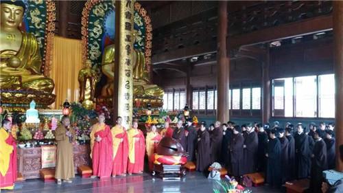 厦门梵天禅寺举行新年祈福送春联活动(图)