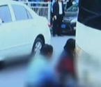 小孩上学路上遭大巴碾压