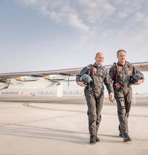 最大太阳能飞机的伟大旅程:环球飞行拉开序幕