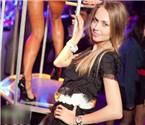 俄夜店的性感美女