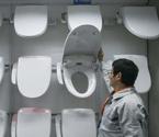 日本畅销马桶盖生产线