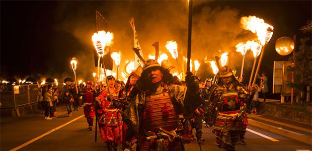 长崎观樱火宴:凄美壮烈的武士之夜